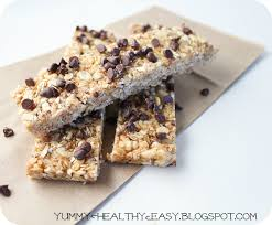 Top 10 Healthiest Granola Bars by No Bake Chewy Chocolate Chip Granola Bars Healthy Easy