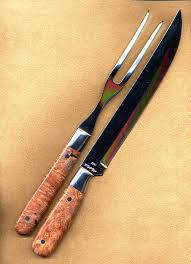 Wood Carving Kitchen Knife by Carving Sets Kitchen Knives Chefs Knives Cooking Knives Custom