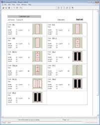 Home Design Software List by Simple Cabinet Cut List Software Small Home Decoration Ideas
