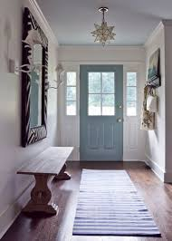 Front Door Interior Could The Inside Of Your Front Door Use A New Color