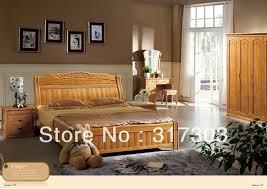 chambre chene massif usine gros chêne massif bois lit design moderne chambre