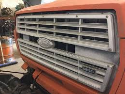 Ford F700 Hood And Fenders - ford f 700 grille for a 1991 ford f700 for sale jackson mn