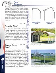 answers to faq about metal carports metal buildings metal carport roof designs