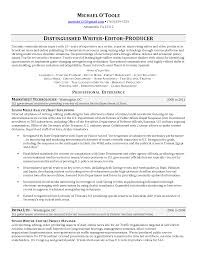 Web Producer Resume Editing Resume Virtren Com