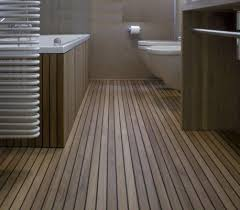 Wood Floor In Bathroom 25 Best Teak Flooring Ideas On Pinterest Wood Floor Bathroom
