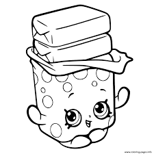 bobby bubble gum shopkins season 6 coloring pages printable