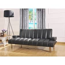 Sofas At Walmart by Mainstays Theater Futon Black Walmart Com