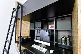 home design studio space dream houses smart home workstation design with shelf space and