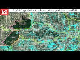 houston map flood time lapse maps how harvey flooded houston
