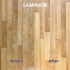 streaky laminate floors