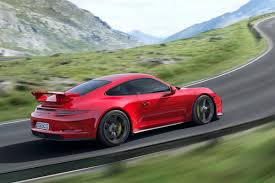 red porsche truck new porsche 911 gt3 boasts 469hp laps the nürburgring in under 7