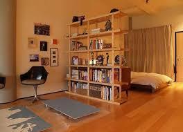 Shelf Room Divider Open Bookshelf Room Divider In Bedroom Home Interiors