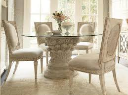 Round Glass Top Dining Table Set Kitchen Glass Kitchen Table And 52 Phenomenal Round Glass Dining