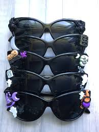 halloween cat eye sunglasses pumpkin skeleton moon spider