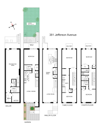 Brooklyn Brownstone Floor Plans by Lovely 19th Century Brooklyn Heights Brownstone With Landscaped
