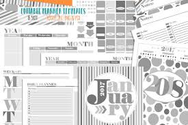 planner page templates customizable planner page templates by studio kitsch customizable planner page templates by studio kitsch thehungryjpeg com