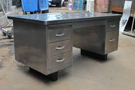 Vintage Metal Office Desk Tanker Desk Which I Already I This Thing Guess What