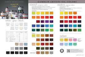 mineral and modern colors painters u0027 access to color