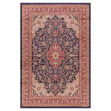 Concord Global Area Rugs Concord Global Trading Heriz Navy 5 Ft 3 In X 7 Ft 7 In