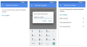 block numbers android implementing block phone numbers android open source project