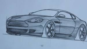 3d drawing of car drawing of sketch