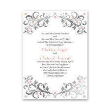 fancy wedding invitations wedding invitations s bridal bargains