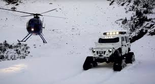 arctic maserati stormtrooper jk jeep with tracks is called