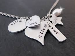 childrens name necklace childrens names necklace kids names necklace 5 names necklace