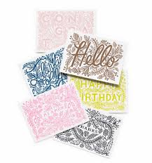 happy birthday letterpress card folded cards letterpresses and cards