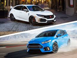 Best R by 2018 Ford Focus Rs Vs 2018 Honda Civic Type R Which Is Best