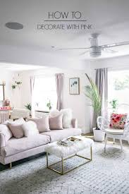 How to Decorate with Pink at home with Ashley