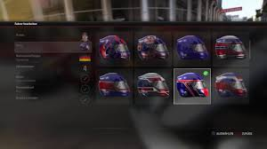 helmet design game all f1 2017 helmets in the colors of the new england patriots youtube