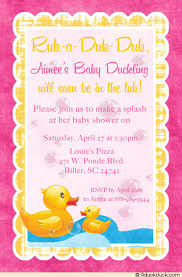 duck baby shower invitations duck baby shower invitation soft duckie tub rub a dub