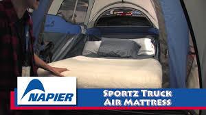napier sportz truck air mattress youtube