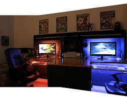 pc gaming desk setup desk pc gaming desk setup amazing computer built into desk pc