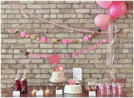 Pink And Gold Baby Shower Decorations by A Pink And Gold Cue The Confetti Themed Baby Shower