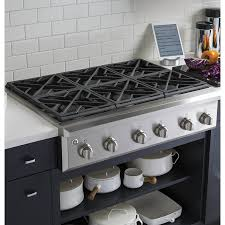 kitchen downdraft gas ranges with storage cabinet in grey also