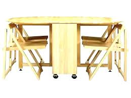 drop leaf table with folding chairs stored inside folding table with chairs inside drop drop leaf table with folding