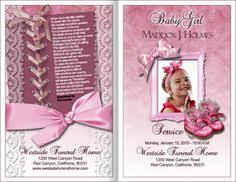 baby funeral program child funeral program projects to try funeral