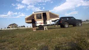 offroad travel trailers 1995 cobra elite lifted offroad pop up camper youtube