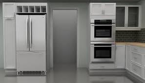 Shallow Kitchen Cabinets by Ikea Microwave Cabinet Ideas Best Cabinet Decoration