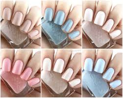essie gel couture spring 2017 ballet collection review and