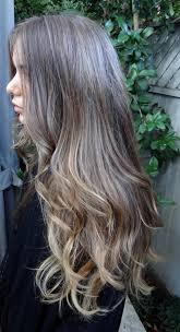 does hair look like ombre when highlights growing out this is my hair now and i love it ash blonde highlights ombre
