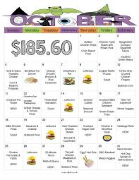 best 25 monthly menu ideas on monthly meal planner