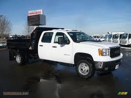 Chevy Silverado Work Truck 4x4 - 2011 gmc sierra 3500hd work truck crew cab 4x4 chassis dump truck