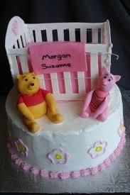 crib u0026 winnie the pooh baby shower cakecentral com