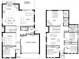 homeplans com two story family room home plans house multi narrow lot single