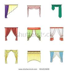 Types Of Curtains Decorating Decorating Curtains Types Designs Different Of Window Set