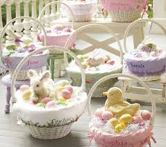 Pottery Barn Baskets With Liners A Pottery Barn Easter Elizabeth U0027s Finds