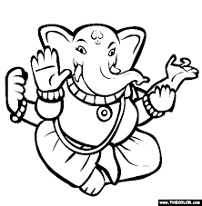 diwali coloring pages 1